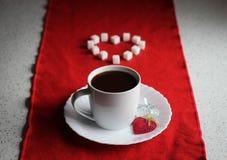 Καφές και αγάπη Στοκ φωτογραφία με δικαίωμα ελεύθερης χρήσης