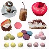 Καφές και αρτοποιείο Στοκ Εικόνες