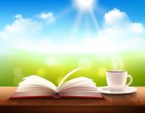 Καφές και βιβλίο Στοκ Φωτογραφία