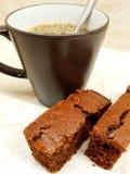 Καφές και επιδόρπιο στοκ εικόνα με δικαίωμα ελεύθερης χρήσης