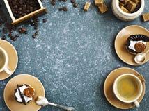Καφές και ζύμες στοκ εικόνα με δικαίωμα ελεύθερης χρήσης
