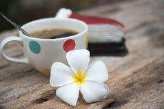 Καφές και κέικ Στοκ Εικόνες