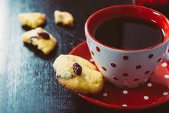Καφές και μπισκότα στοκ φωτογραφία