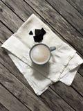 Καφές και σοκολάτα στοκ εικόνα με δικαίωμα ελεύθερης χρήσης