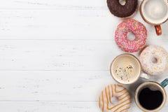 Καφές και Donuts στοκ εικόνα