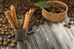 καφές και korritsa Στοκ εικόνα με δικαίωμα ελεύθερης χρήσης