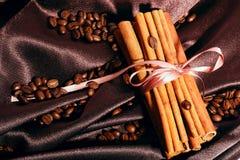 καφές κανέλας Στοκ φωτογραφίες με δικαίωμα ελεύθερης χρήσης