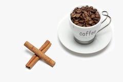 καφές κανέλας Στοκ Εικόνα