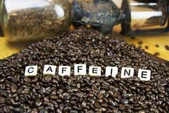 Καφές καφεΐνης στοκ εικόνες