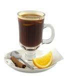 καφές κοκτέιλ αλκοόλης Στοκ εικόνα με δικαίωμα ελεύθερης χρήσης