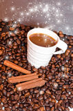 καφές μαγικός Στοκ εικόνα με δικαίωμα ελεύθερης χρήσης