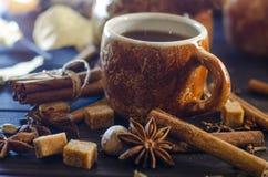 Καφές με τα καρυκεύματα Στοκ φωτογραφίες με δικαίωμα ελεύθερης χρήσης