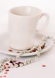 Καφές με την αγάπη Στοκ Φωτογραφίες