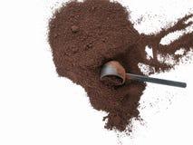 Καφές με τη σέσουλα στοκ εικόνες