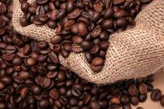 καφές μια πλευρά σάκων Στοκ Εικόνα