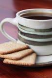 καφές μπισκότων Στοκ Εικόνα