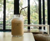 Καφές πάγου σε έναν πίνακα στοκ εικόνες με δικαίωμα ελεύθερης χρήσης