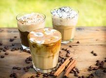 Καφές πάγου Στοκ εικόνες με δικαίωμα ελεύθερης χρήσης
