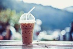 Καφές πάγου Στοκ Εικόνες