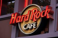 Καφές Παρίσι σκληρής ροκ Στοκ Φωτογραφία