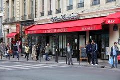 καφές Παρίσι Στοκ Φωτογραφία