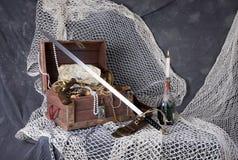 Καφές πειρατών Στοκ εικόνες με δικαίωμα ελεύθερης χρήσης