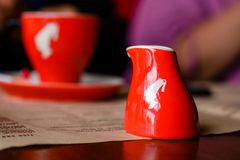 καφές περισσότερος χρόνος Στοκ φωτογραφία με δικαίωμα ελεύθερης χρήσης