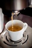 καφές που κάνει το espresso Στοκ φωτογραφίες με δικαίωμα ελεύθερης χρήσης