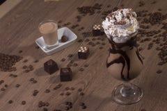 καφές που παγώνεται Στοκ Εικόνες