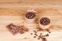 καφές που ψήνεται Στοκ Φωτογραφία