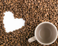 καφές που ψήνεται Στοκ Φωτογραφίες