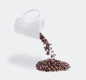 Καφές πτώσης Στοκ Εικόνα