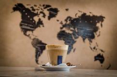 Καφές σε όλο τον κόσμο Στοκ Εικόνες