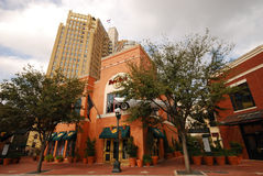 Καφές σκληρής ροκ στο San Antonio, TX Στοκ Εικόνες
