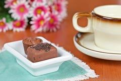 καφές σοκολάτας καραμε Στοκ φωτογραφία με δικαίωμα ελεύθερης χρήσης