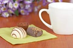 καφές σοκολάτας καραμε Στοκ φωτογραφίες με δικαίωμα ελεύθερης χρήσης