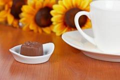 καφές σοκολάτας καραμε Στοκ Εικόνες