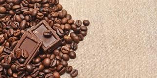 καφές σοκολάτας φασολ&io Στοκ Εικόνα