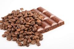 καφές σοκολάτας Στοκ Εικόνες