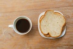 Καφές στον πίνακα Στοκ Εικόνα