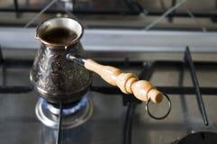 Καφές στον Τούρκο Στοκ φωτογραφίες με δικαίωμα ελεύθερης χρήσης