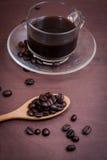 Καφές στο ξύλινο υπόβαθρο grunge στοκ φωτογραφία με δικαίωμα ελεύθερης χρήσης