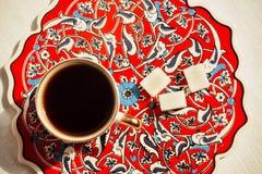 Καφές στο τουρκικό ύφος Στοκ εικόνες με δικαίωμα ελεύθερης χρήσης