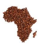 καφές της Αφρικής που γίνεται Στοκ εικόνα με δικαίωμα ελεύθερης χρήσης