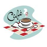 καφές του CAF Στοκ φωτογραφία με δικαίωμα ελεύθερης χρήσης