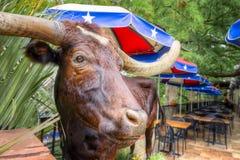 Καφές του San Antonio Riverwalk στοκ φωτογραφίες