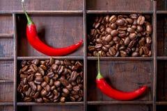 καφές τσίλι Στοκ Φωτογραφία