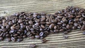 καφές φασολιών ακατέργασ απόθεμα βίντεο
