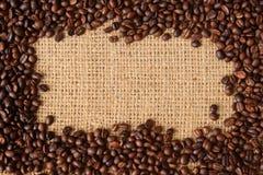 καφές φασολιών ανασκόπησης Στοκ εικόνα με δικαίωμα ελεύθερης χρήσης
