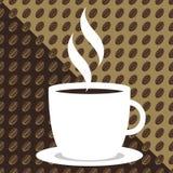 καφές φασολιών ανασκόπησης Στοκ εικόνες με δικαίωμα ελεύθερης χρήσης